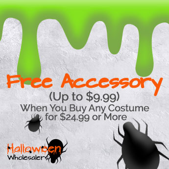 Free Accessory (Up to $9.99) When You Buy Any Costume for $24.99 or More